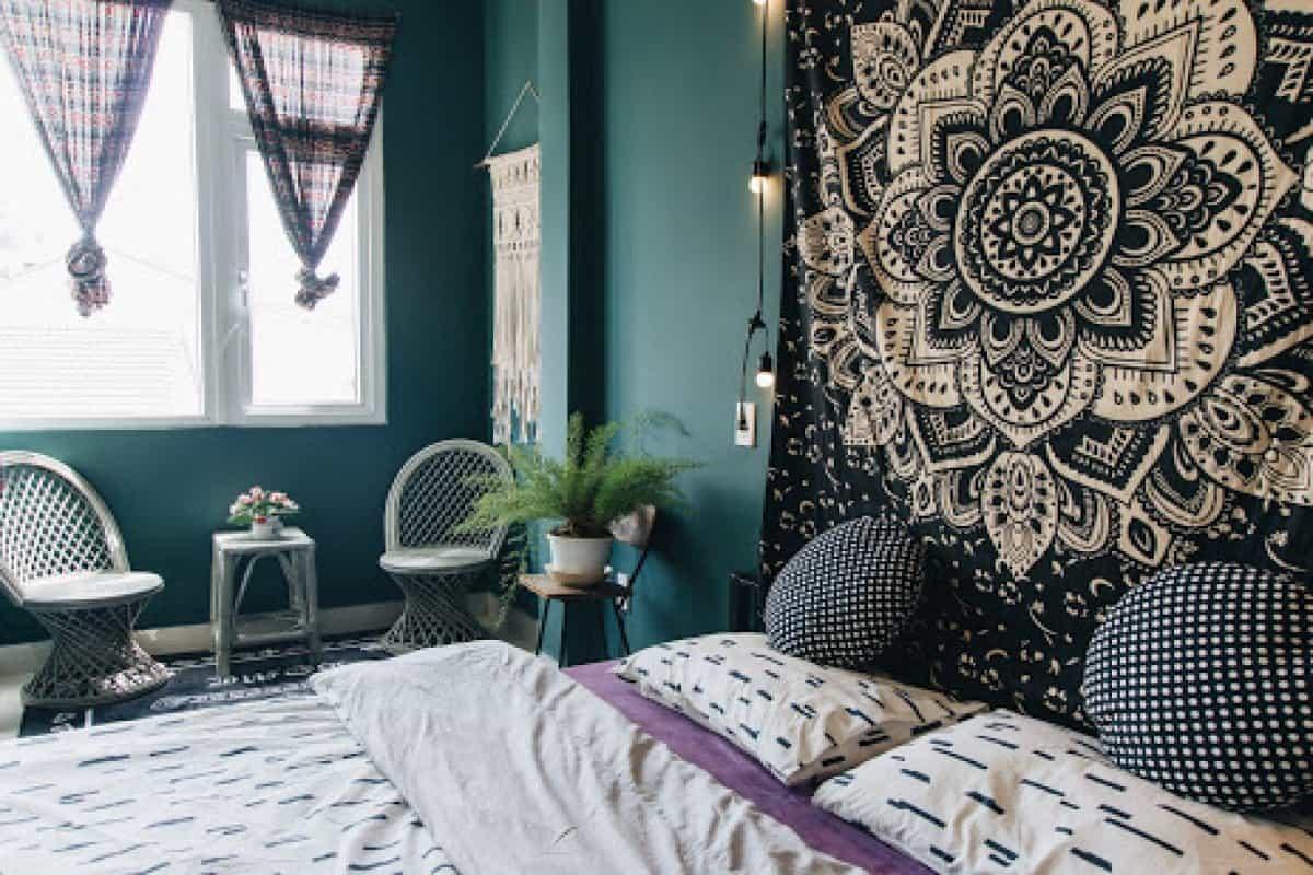 Cách phối màu xanh lá của Kat's Home Đà Lạt