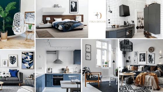 Phong cách Scandinavian - Trang trí nhà đẹp kiểu Bắc Âu 2