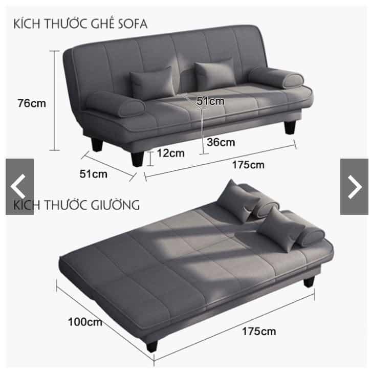 10 mẫu sofa đẹp giá dưới 5 triệu đồng trên Shopee 23