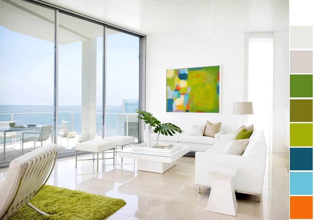 6 gợi ý phối màu trắng sáng tạo không gian nội thất thanh lịch, hiện đại 2