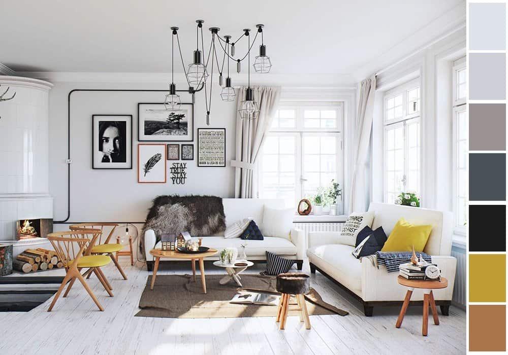 6 gợi ý phối màu trắng sáng tạo không gian nội thất thanh lịch, hiện đại 3