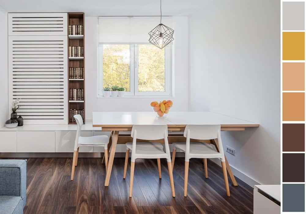 6 gợi ý phối màu trắng sáng tạo không gian nội thất thanh lịch, hiện đại 4