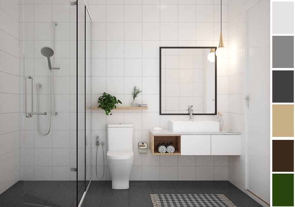 6 gợi ý phối màu trắng sáng tạo không gian nội thất thanh lịch, hiện đại 7