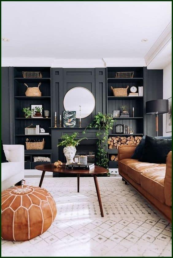7 cách phối màu đen kiến tạo không gian nhà ở sang trọng 3