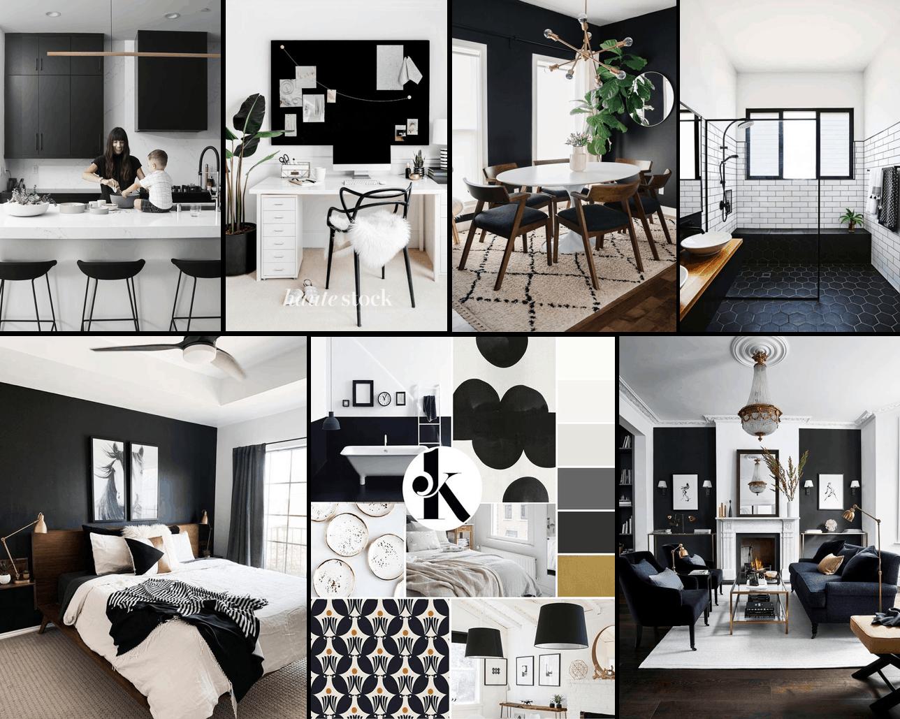7 cách phối màu đen kiến tạo không gian nhà ở sang trọng 6